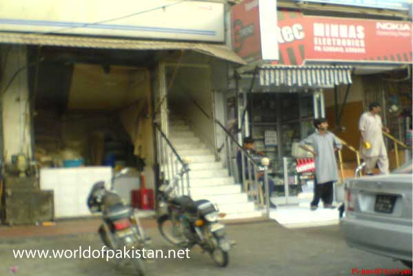 A shop in Phase 2 Defence Housing Authority in Karachi